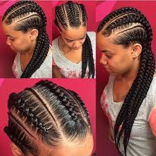 red cornrow braided hair these feedinbraids braids are so neat by milwaukeebraider