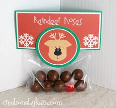 easy christmas gift reindeer noses