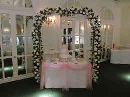 How To Decorate A Wedding Arch Wedding Arch U0026 Cake Table Swags By Boutique Venue Dressing