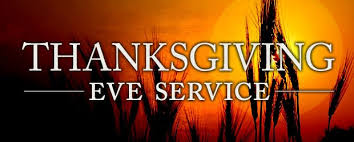 thanksgiving potluck dinner and worship service smoky hill