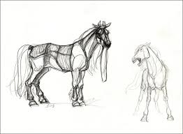 horse sketches by theurbanfox on deviantart