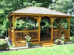 Gazebo Ideas For Backyard Backyard Kitchen Gazebo Pergola Design Best Backyard Gazebo Ideas