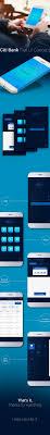 citi bank app flat ui concept on behance gd app general