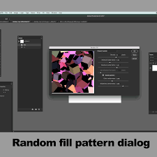 adobe illustrator random pattern how to use random fill pattern script in photoshop tutorial
