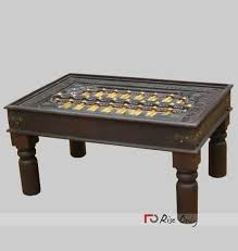 sheesham wood solid square table with brass fitted 18 best brass fitted furniture images on brass