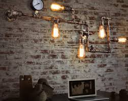 Industrial Wall Sconce Vintage Industrial Wall Sconce Etsy