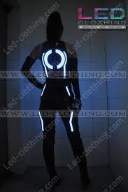 Led Halloween Costumes Tron Legacy Led Costume Woman Led Clothing Studio