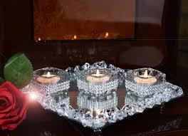 Vintage Bohemian Lead Crystal Candle Holder For Three Candles Crystal Candle Holder Ebay