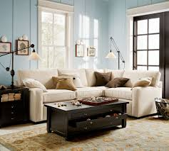 Pottery Barn Paint Colors 2014 Living Room Fascinating Living Space Design Presented With White