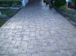 Photos Of Stamped Concrete Patios by Patios Pools Driveways Pavers Stamped Concrete Overlay Tile