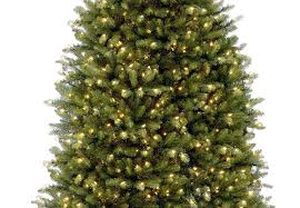 18ft pre lit dunhill fir artificial tree garden