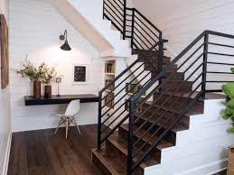 Staircase Banister Stairs Modern Stair Railing For Cool Interior Staircase Design