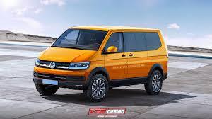 volkswagen concept van x tomi design volkswagen t6 multivan u0026 transporter concept