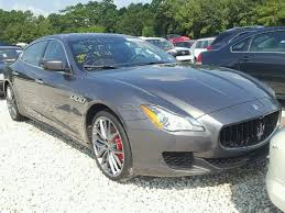 maserati quattroporte 2015 blue 2015 maserati quattroporte s for sale tx houston salvage cars