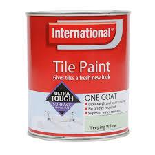 Bathroom Tile Paint by Tile Paint For Bathroom Amazon Co Uk