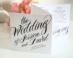 tri fold wedding programs ravishing script tri fold wedding programs