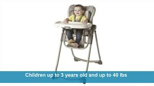 How To Fold A Graco High Chair Graco Slim Spaces Highchair Youtube