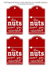 i u0027m nuts about you free printable valentine skip to my lou