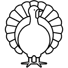 Coloring Page Of Turkey Kids Drawing And Coloring Pages Marisa Turkey Coloring Pages Printable