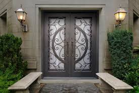 Home Doors by Wrought Iron Doors Kings Building Material