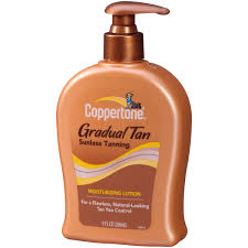 How To Go Tanning Coppertone Gradual Tan Sunless Tanning Moisturizing Lotion 9 Fl