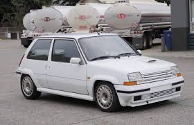 renault hatchback from the 1980s rare rides a 1990 renault 5 gt turbo is lecar u0027s big brother
