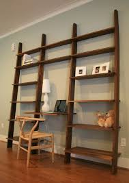home design cool desks with bookshelvess