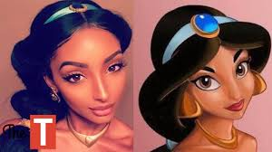 see what you would look like with different color hair 10 people who shockingly look like disney princesses youtube