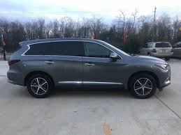 2017 used infiniti qx60 fwd 2017 infiniti qx60 only 5k miles sunroof leather power tailgate