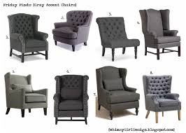 whimsy friday finds gray chair round up