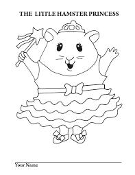 pet shop coloring pages printable littlest hamster princess