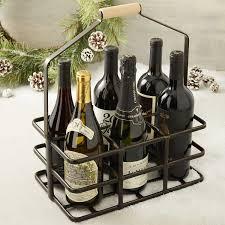 6 bottle wine caddy wine enthusiast