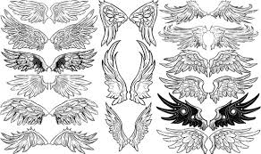 vector wings free vector in adobe illustrator ai ai vector