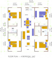 four bedroom floor plans four bedroom floor plans a affordable home concepts