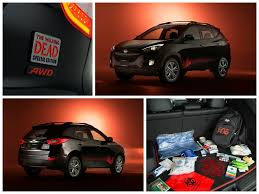hyundai tucson 2014 red the walking dead special edition tucson now available the