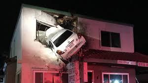 santa ana second floor car crash know your meme