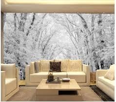 Cheap Wall Mural Online Get Cheap Woods Scene Wallpaper Aliexpress Com Alibaba Group