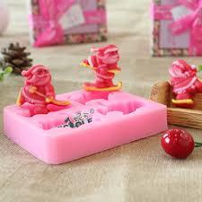 aliexpress com buy nicole silicone chocolate mold santa claus