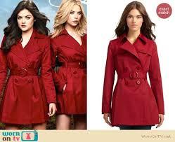 Pretty Liars Halloween Costumes Sale Pll Red Coat Sale