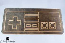 Game Room Wall Decor by Retro Nintendo Controller Wall Art Old Game Room For