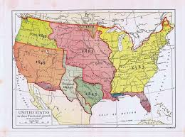 map of the united states map united states territorial growth 1910 maps