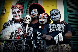 new orleans halloween new orleans u0027 carnivalesque day of the dead
