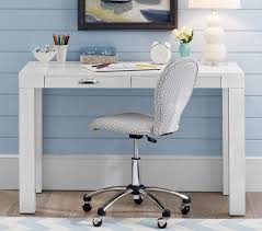 White Parsons Desk Pottery Barn Kids Desks And Hutches On Sale That Are Perfect For