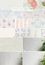 shabby chic wallpaper ideas and designs home tree atlas
