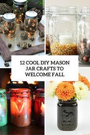 35 Halloween Mason Jars Craft Ideas For Using Mason Jars For by 12 Cool Diy Mason Jar Crafts To Welcome Fall Shelterness