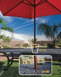 the patio umbrella cone keep your umbrella stable outsidemodern