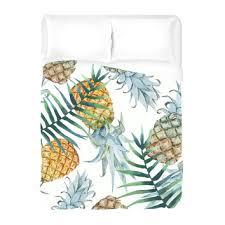 shop pineapple duvet cover on wanelo
