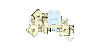 4 bedroom mountain lodge house plan 12943kn architectural