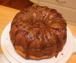 a touch of sanity pecan pie pound cake w crispy brown sugar