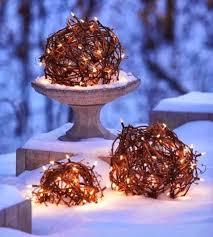 creative outdoor christmas lights the garden glove